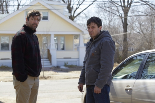 "Kyle Chandler and Casey Affleck in ""Manchester by the Sea"""