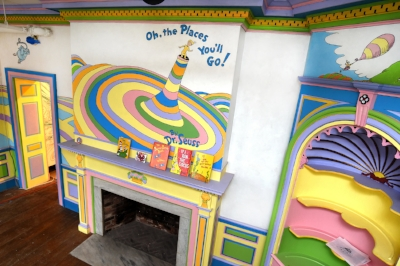 Photos courtesy of The Amazing World of Dr. Seuss Museum