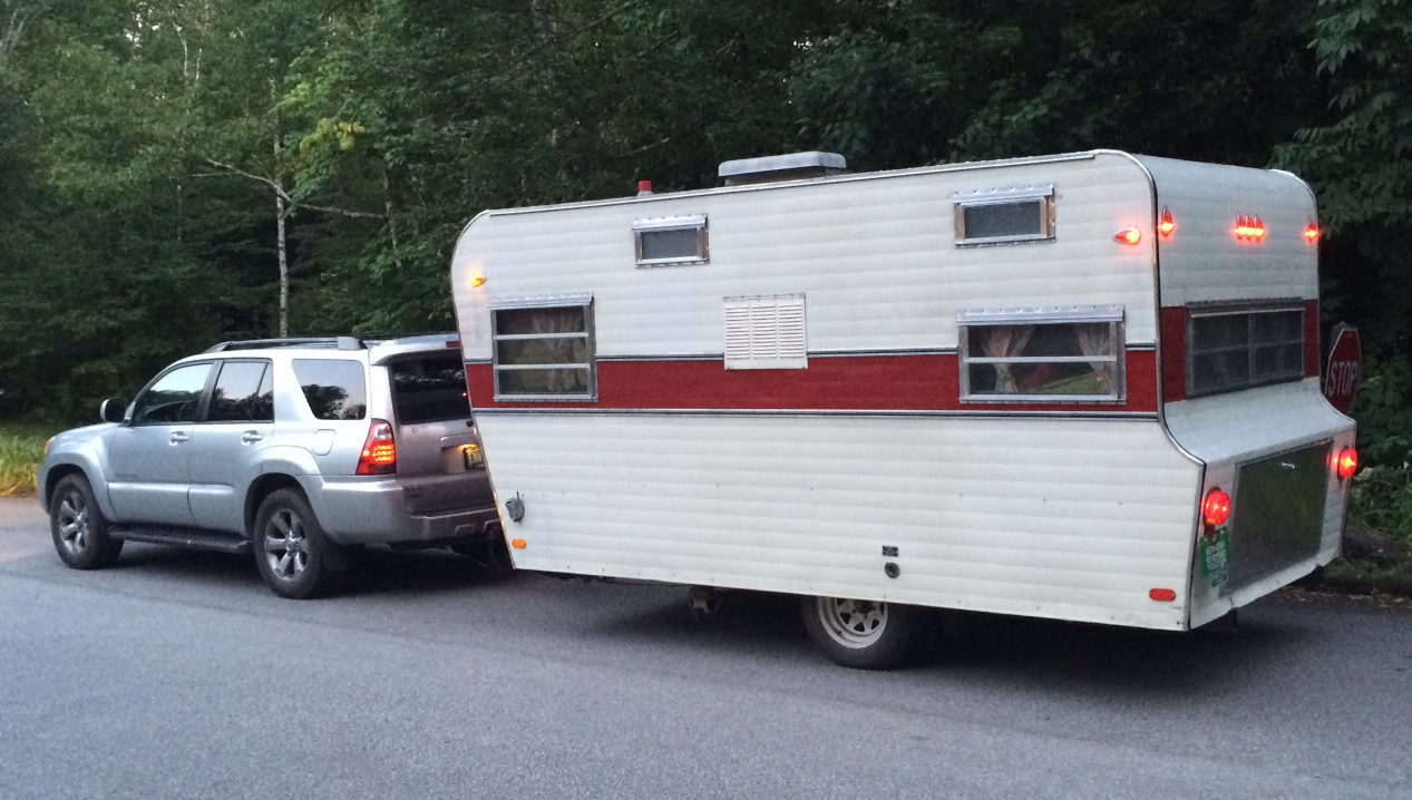 When we aren't working hard for our clients, we explore the American landscape in a restored 1969 Avalon camper.