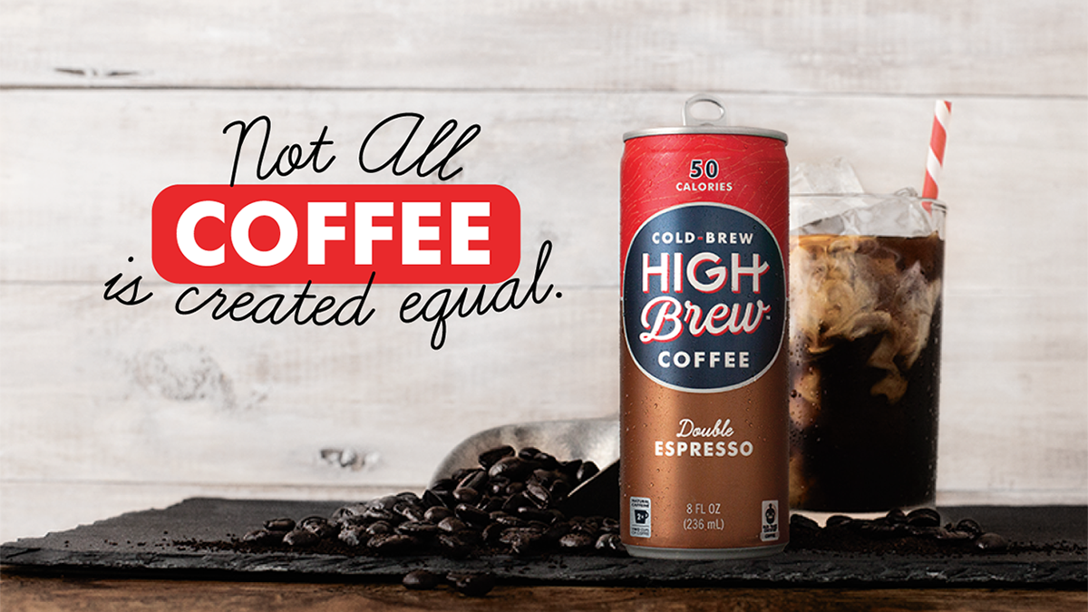 High Brew Coffee is now available at WAWA!!!!    High Brew Coffee   is Cold-Brew For Those Who Do, 100% natural, Fair Trade Certified, low in sugar with twice the caffeine, all with only 60 calories or less per serving.