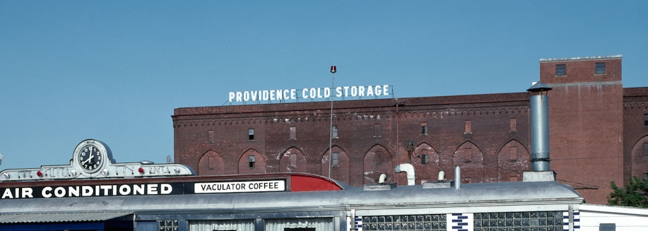 Silver Top Diner and Cold Storage Warehouse (detail)