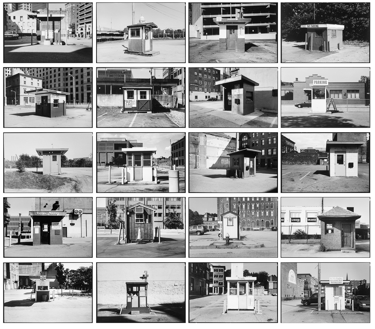 20 Parking Shacks in Downtown Providence, RI [2000-2006]