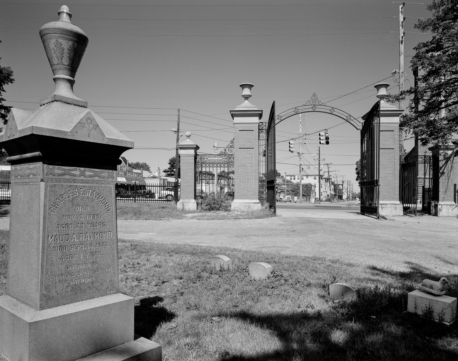 Gates of the Oak Grove Cemetery, 1994