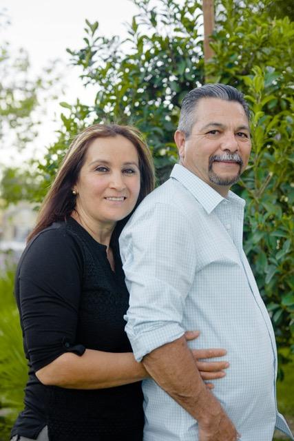 Pastor Alejandro Gastelum and wife Rosalina