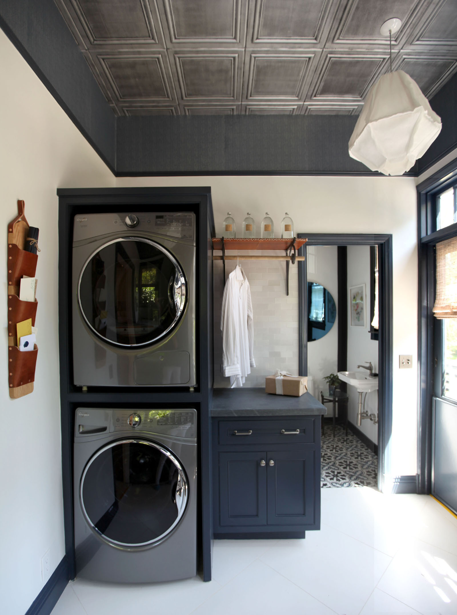 LAUNDRY ROOM & BATH -