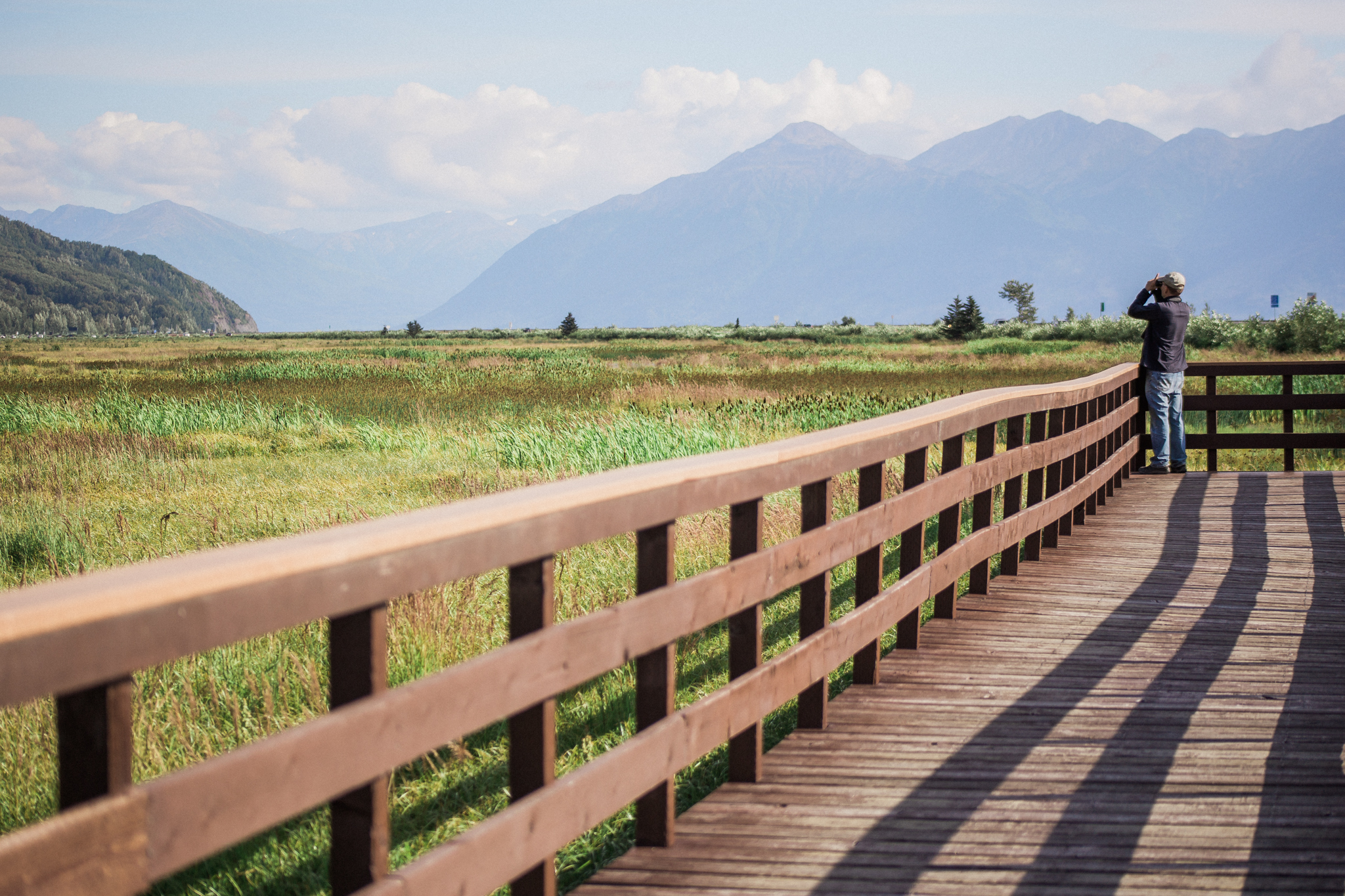 Along the Seward Highway / Turnagain Arm stretch you will find these amazing pull-off areas that you can explore and just take in the jaw-dropping scenery. Right. On. The. Highway.  It is usually a long drive to .... anywhere.... so stop at these and enjoy the journey.