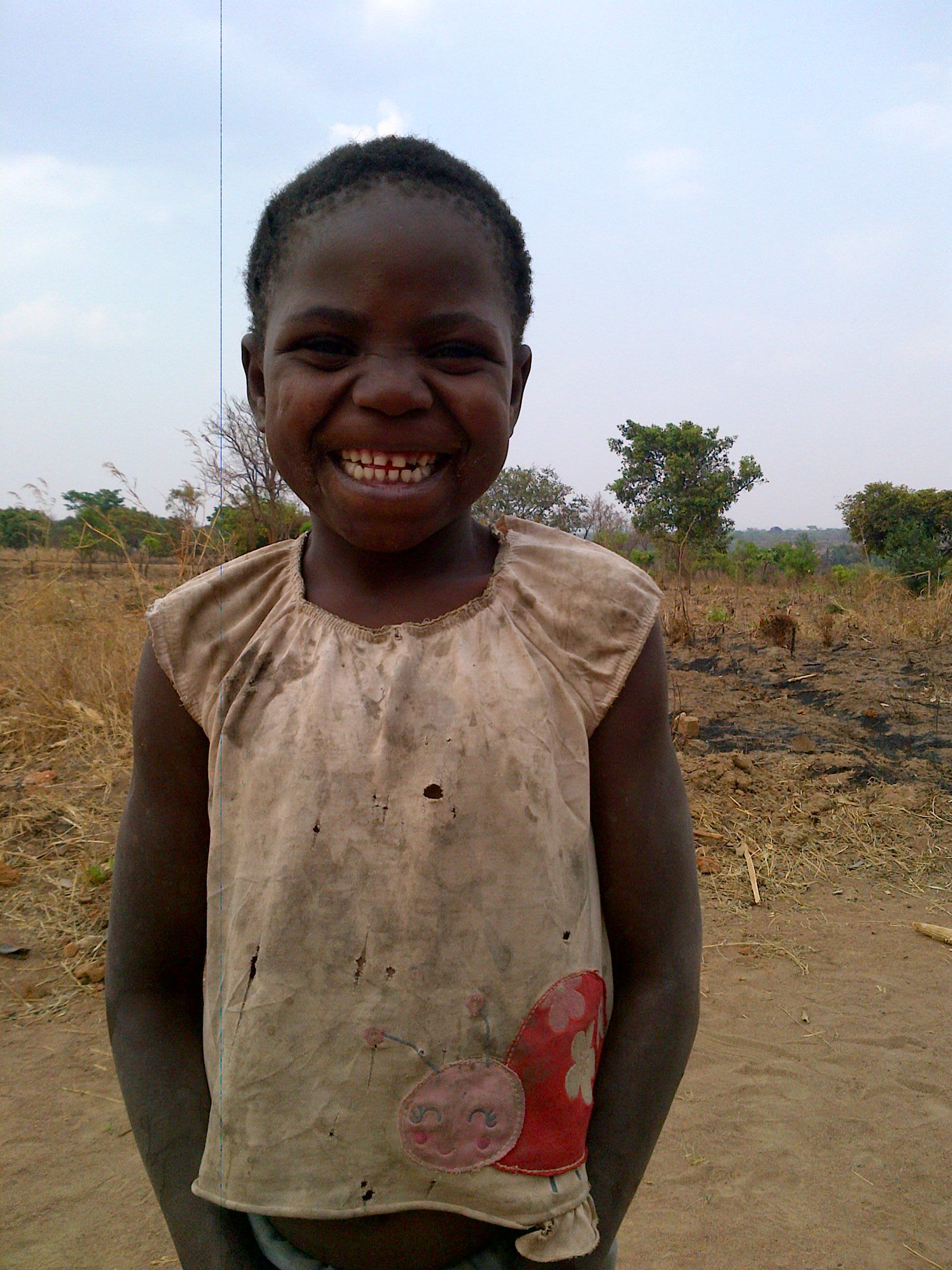 Eileen, another little beautiful child in the village.