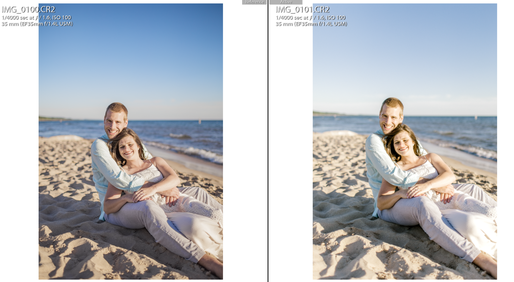 Editing Light and Airy