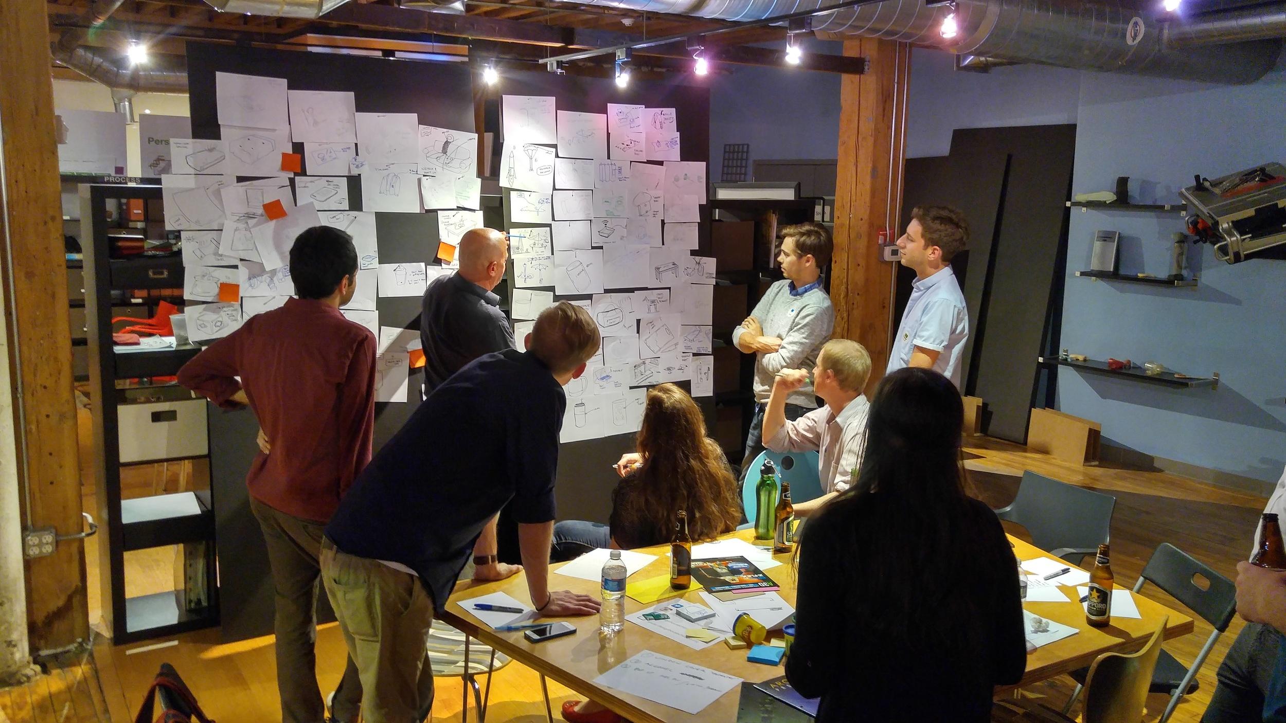 Designers at the Fabrics Jam last September.