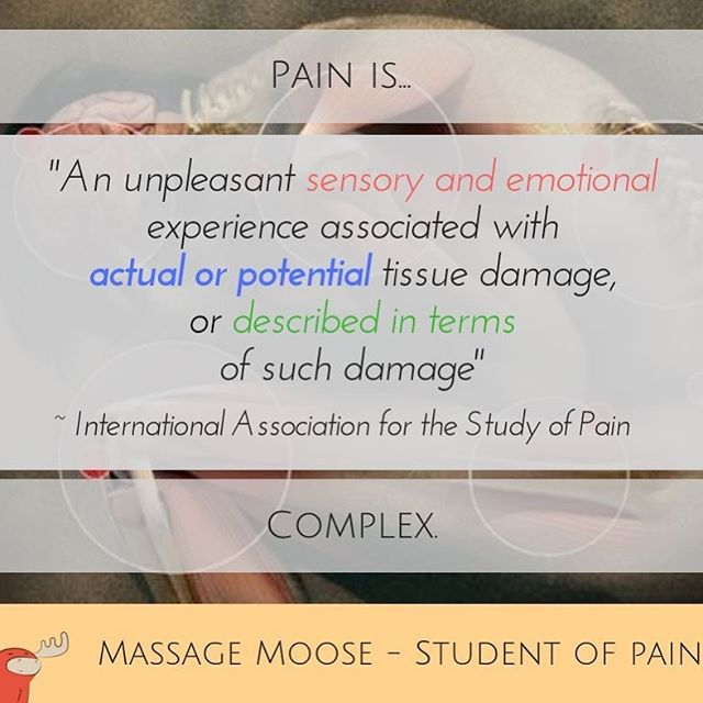 Once we acknowledge that pain is complex we study the many interconnected factors associated with it. It is a personal experience unique to you. We are here to listen. #BioPsychoSocial #EvidenceEnthusiast