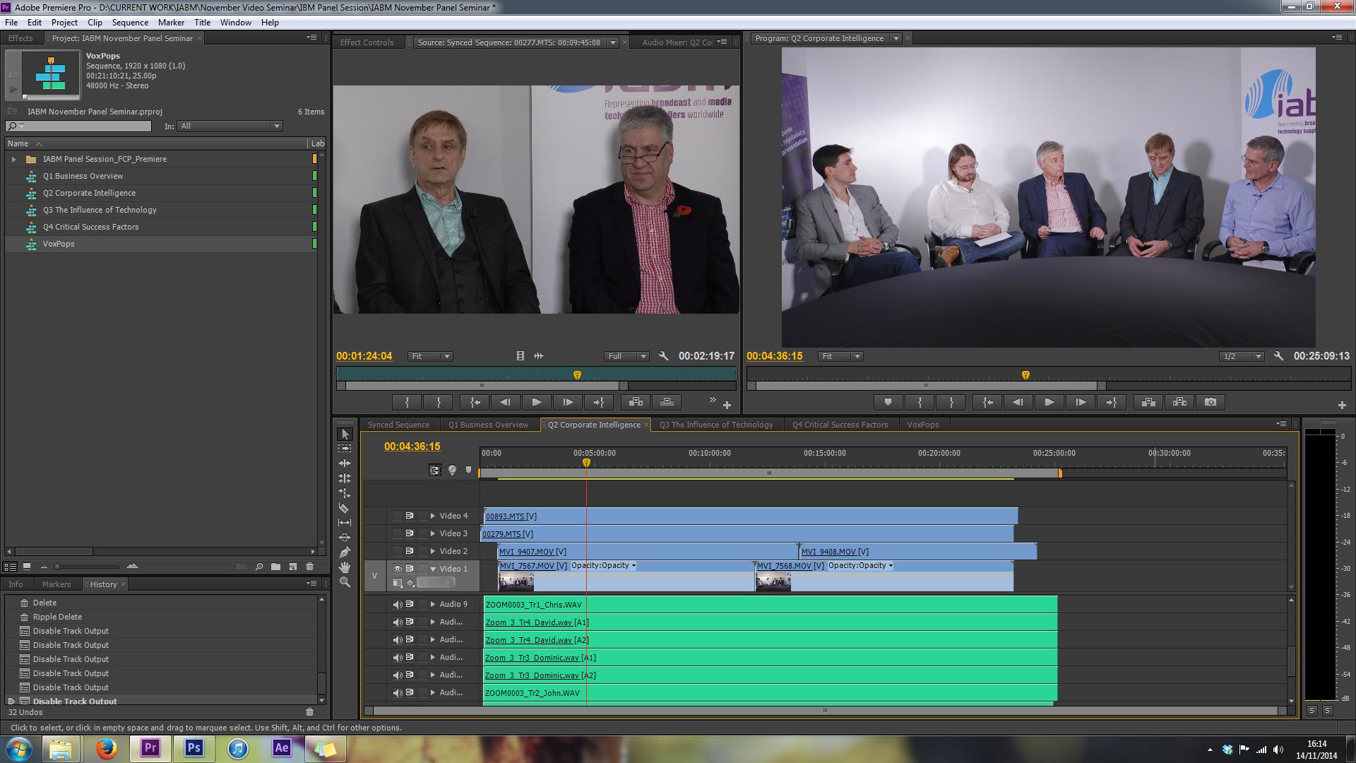 synced footage adobe premiere pro APV