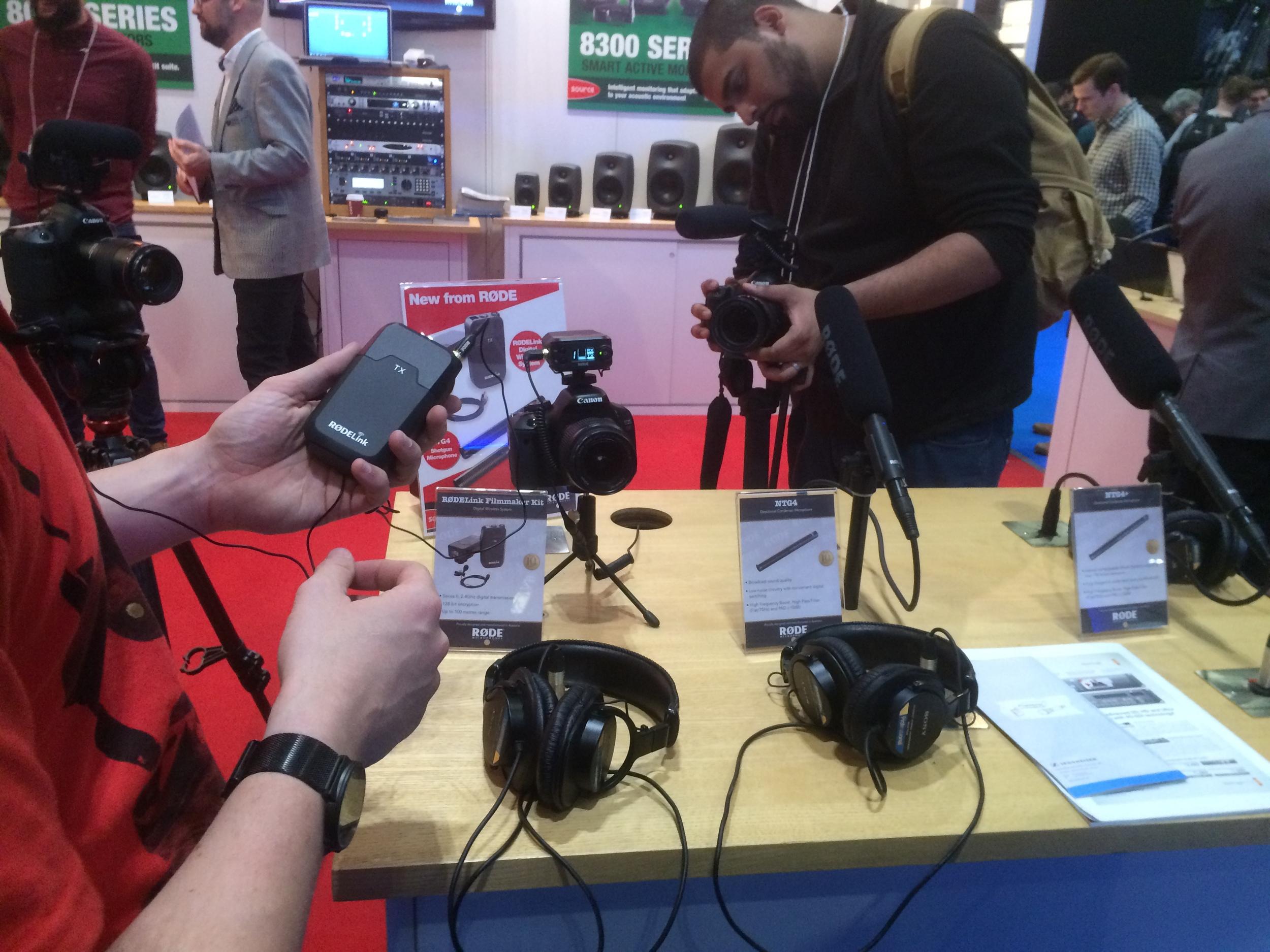 The NEW Rode Filmmaker wireless audio kit