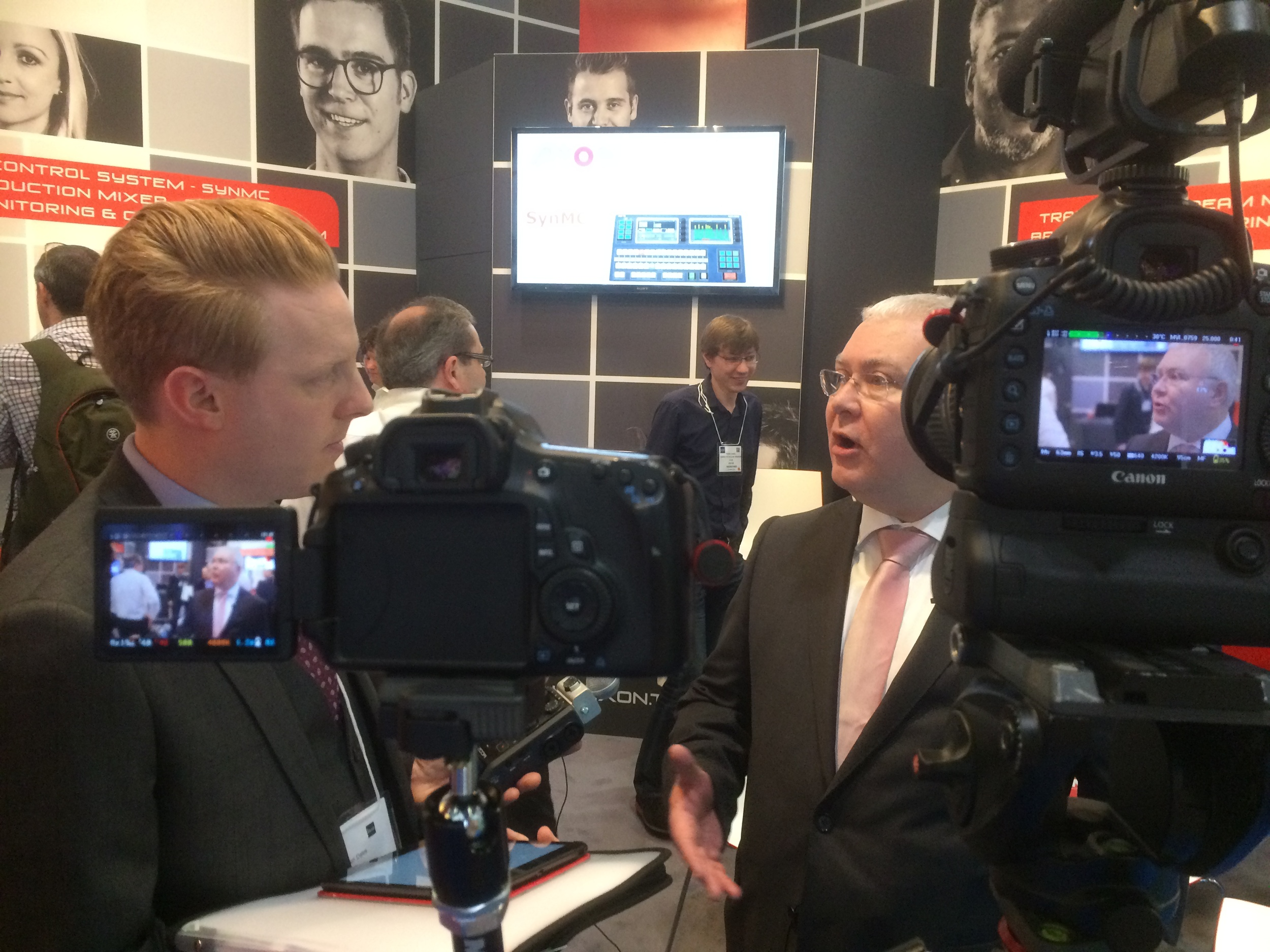 Adrian from AXON Digital Design talks to IABM TV about their BVE show experience and benefits of being a member.