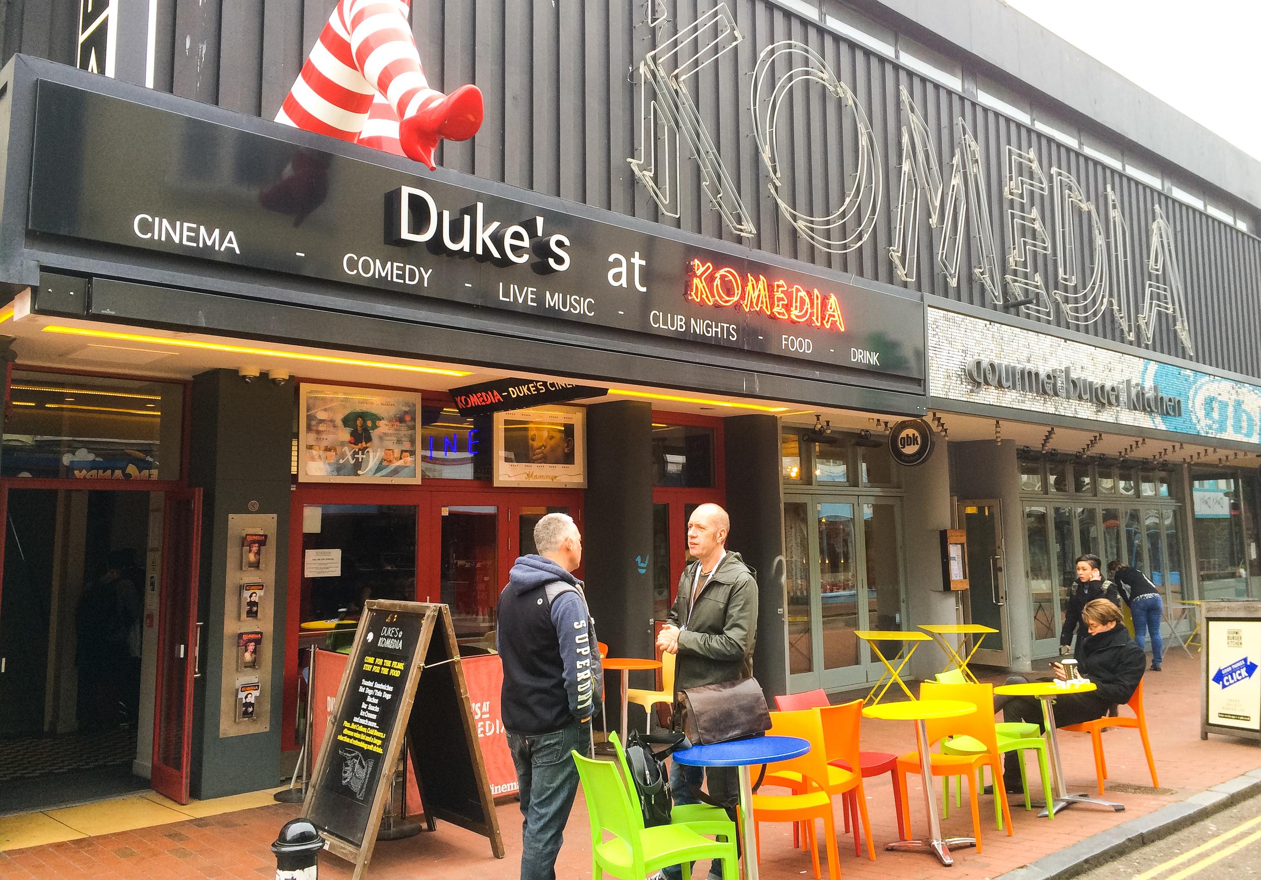 Dukes at Komedia Theatre Brighton