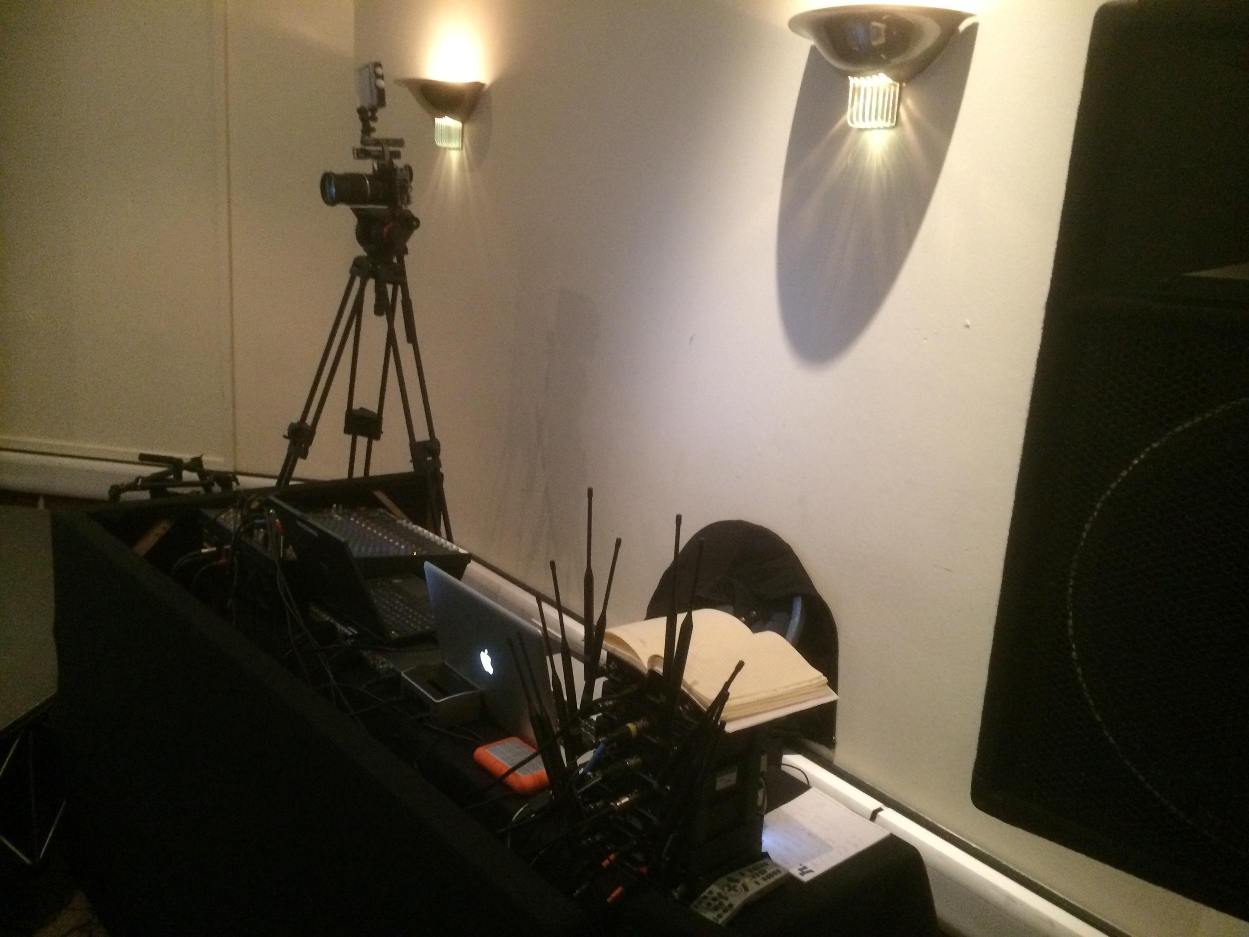 Simple PA setup with wireless.