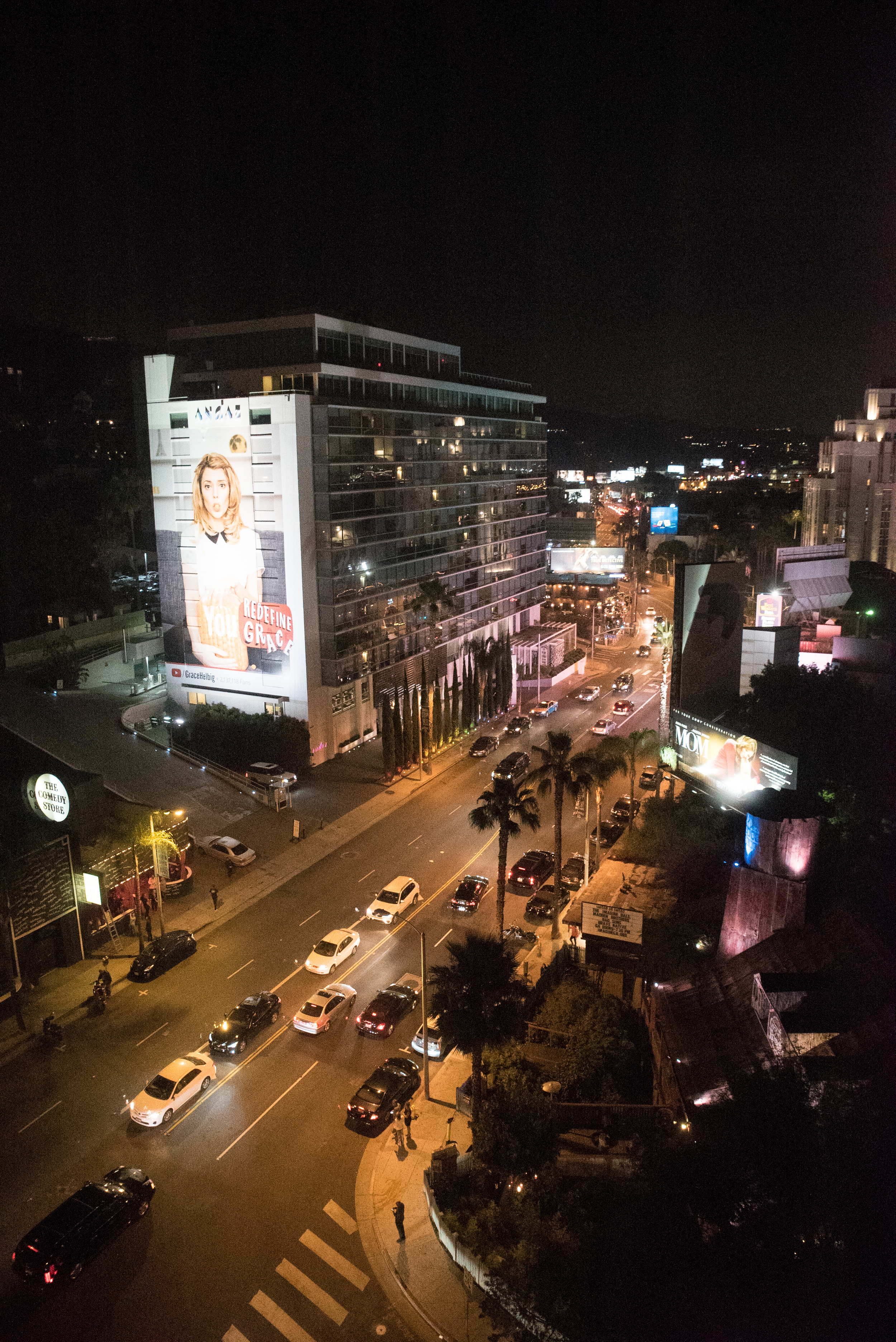 View from Mondrian LA