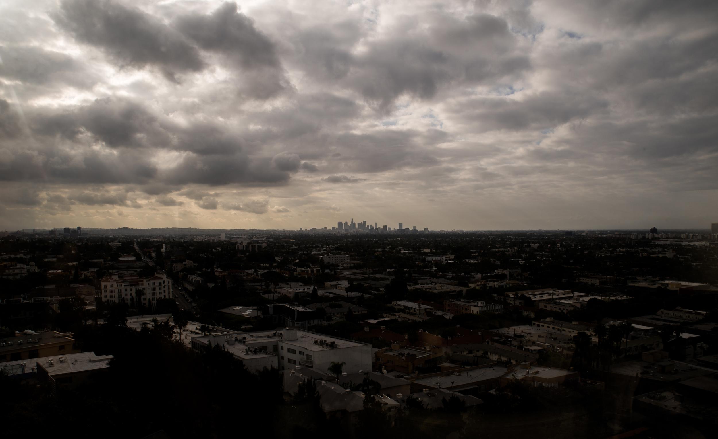 View from the Mondrian LA