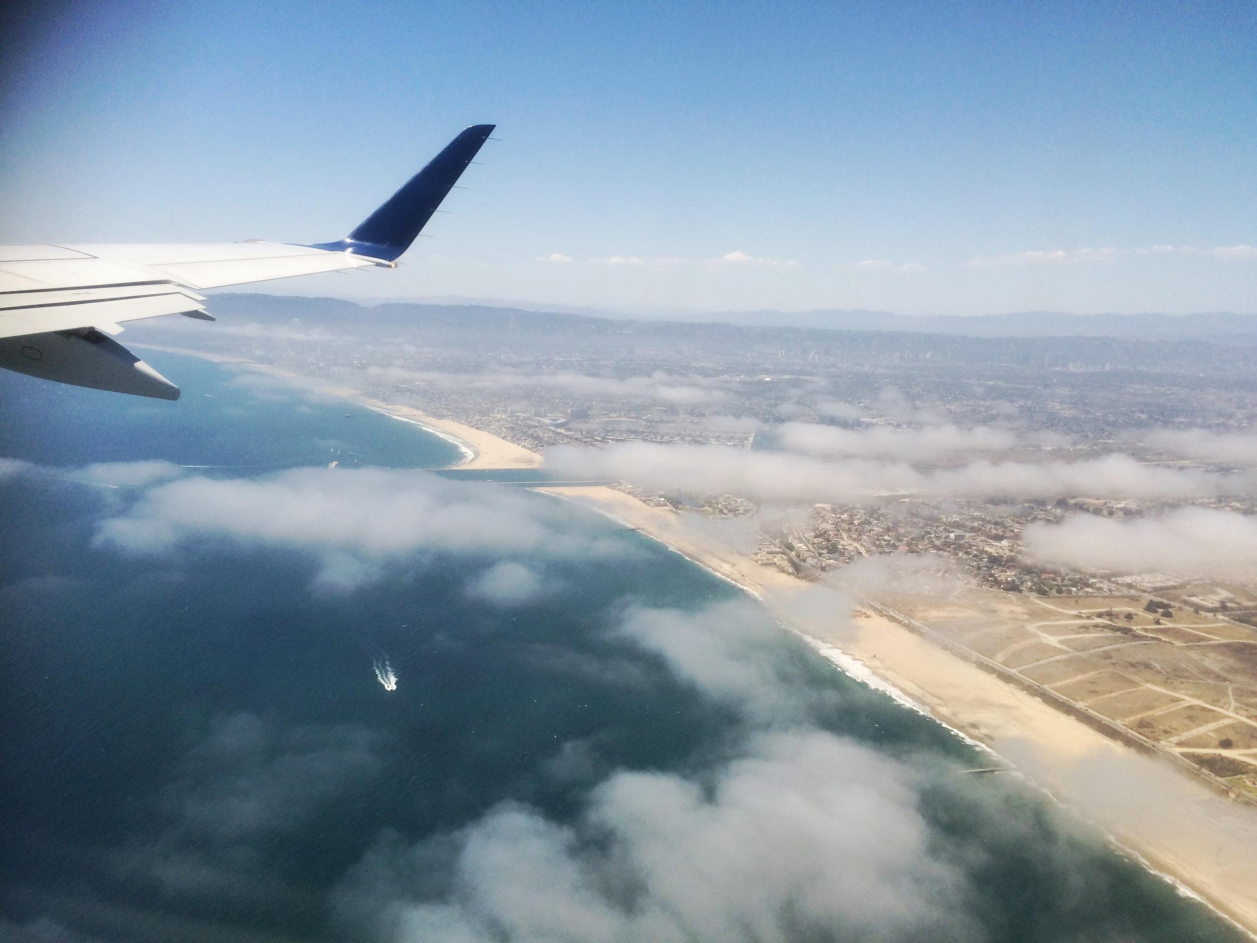 Bye bye LAX!
