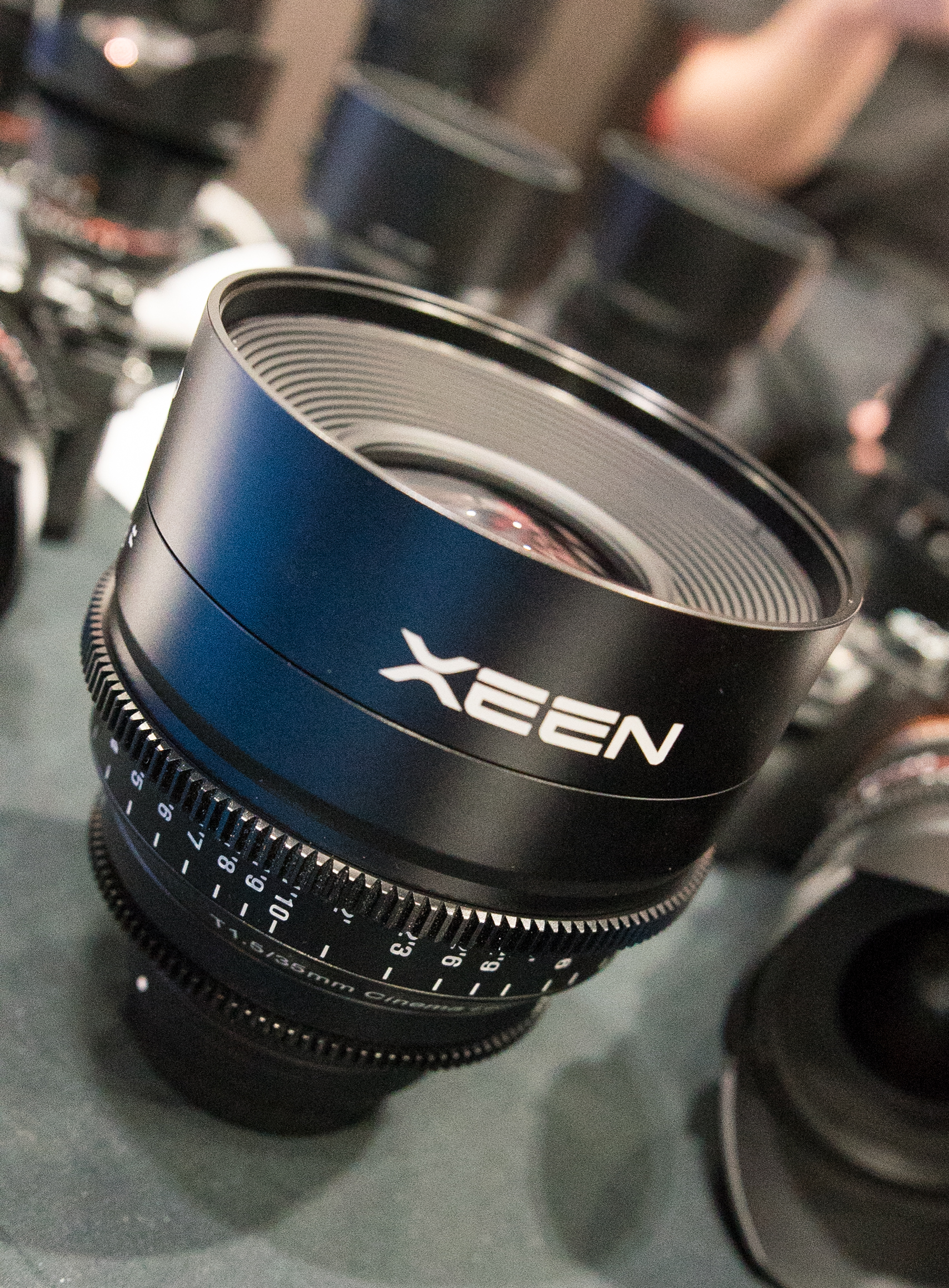 Samyang XEEN cine lenses BVE 2016 Adam Plowden Video Cinema5D