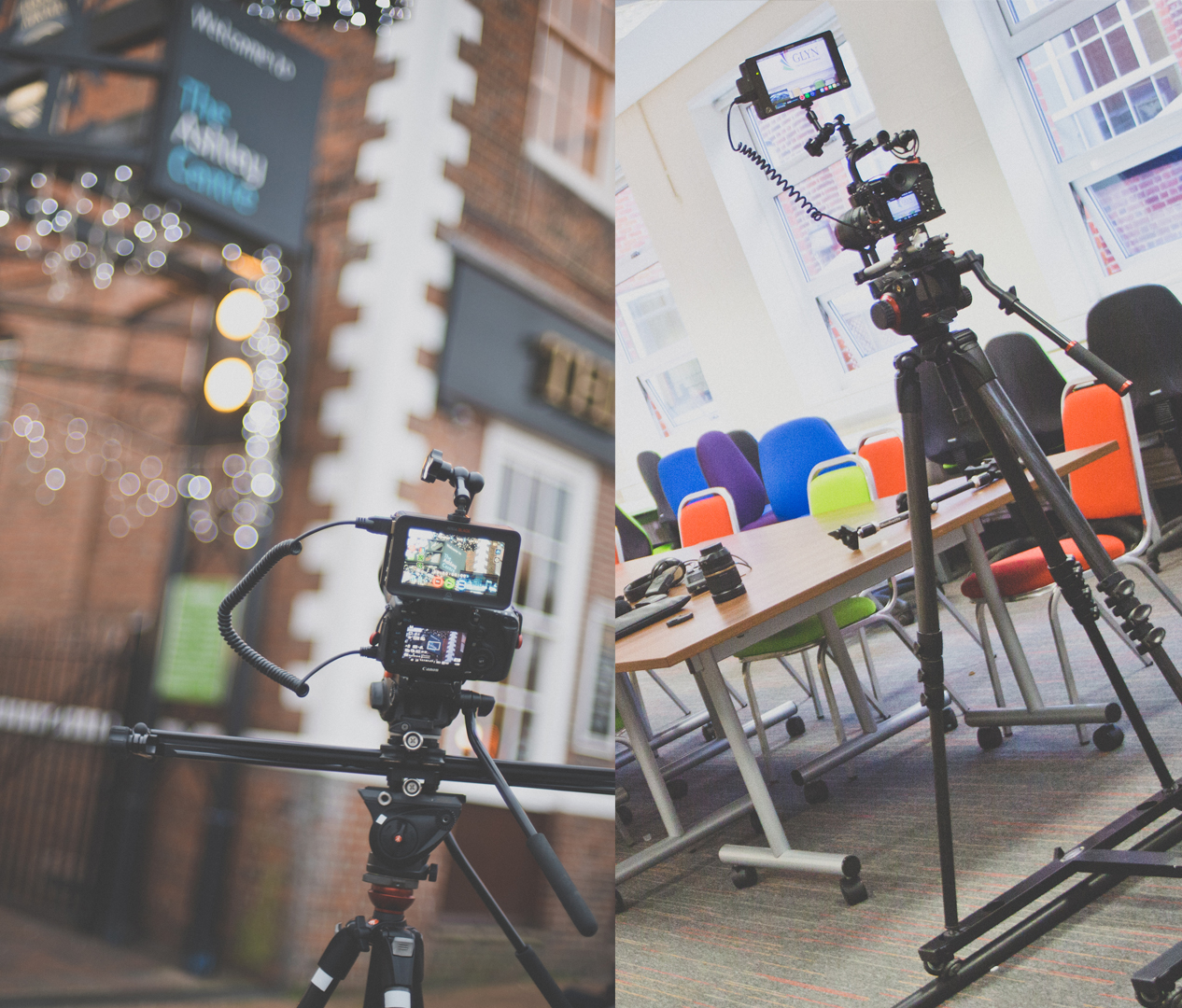 ProMediaGear Arc Slider and Dolly Track