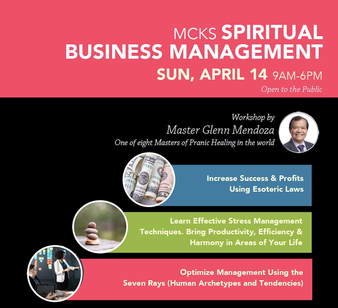 SPIRITUAL BUSINESS MANAGEMENT -