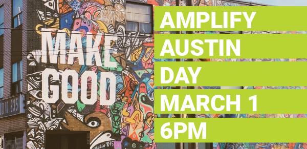 Amplify ATX - March 1 2018
