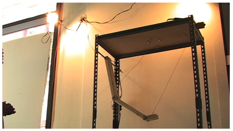 TETHERED EXTENSION OF SELF   2007 - VIDEO STILL