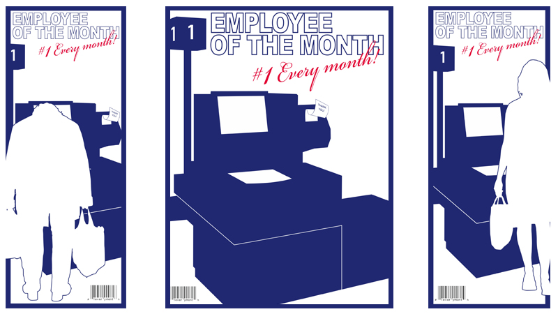 EMPLOYEE OF THE MONTH POSTERS   2008