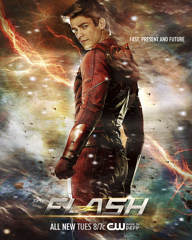 Broadcast print advertising for Flash on CW TV.
