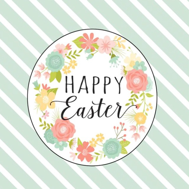 Happy Easter, IG friends! Have a beautiful Sunday! www.thepetitepartylist.com