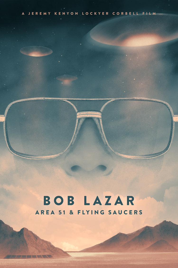 BOB LAZAR MOVIE POSTER