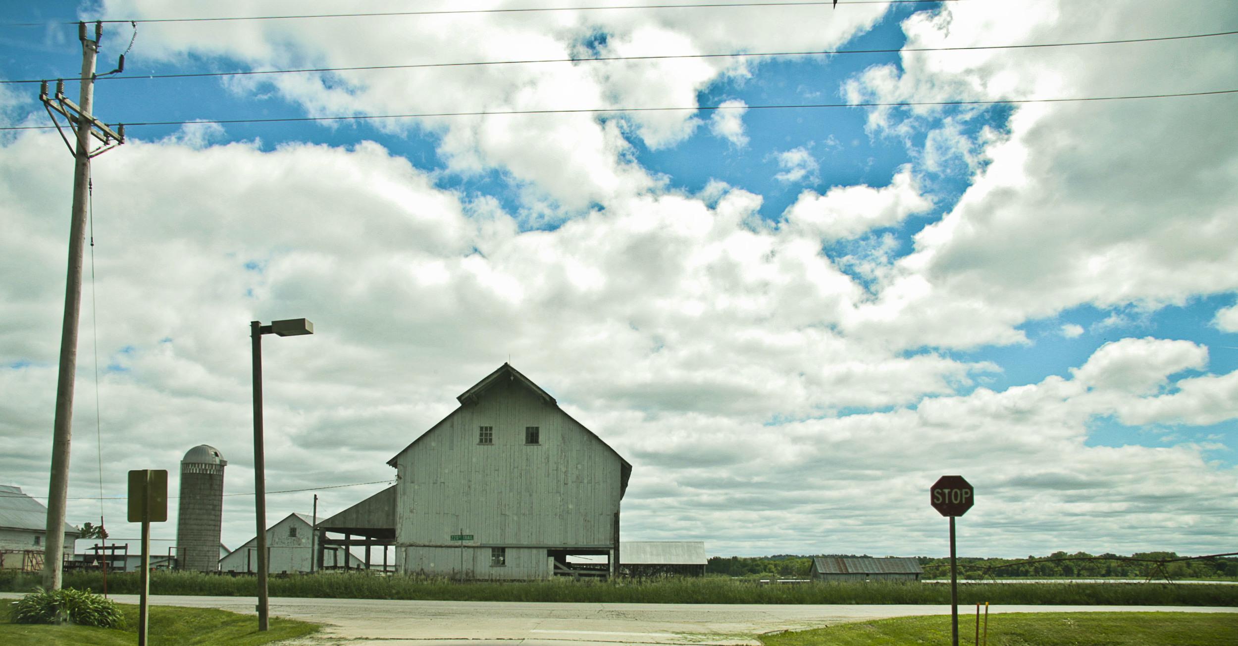 Intersection, Kalona Iowa