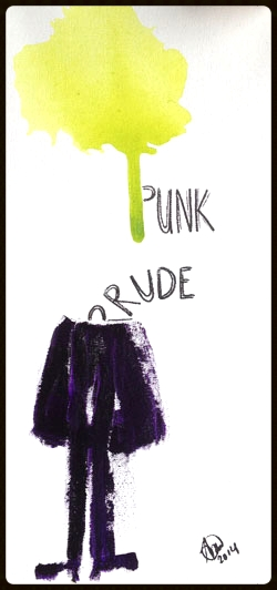 #94 Graffiti Punk/Prude *SOLD*