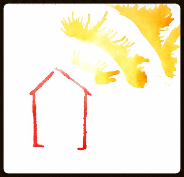 #117 Fiery Home *SOLD*