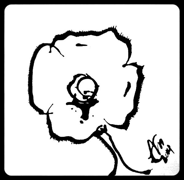 #143 Floral *SOLD*