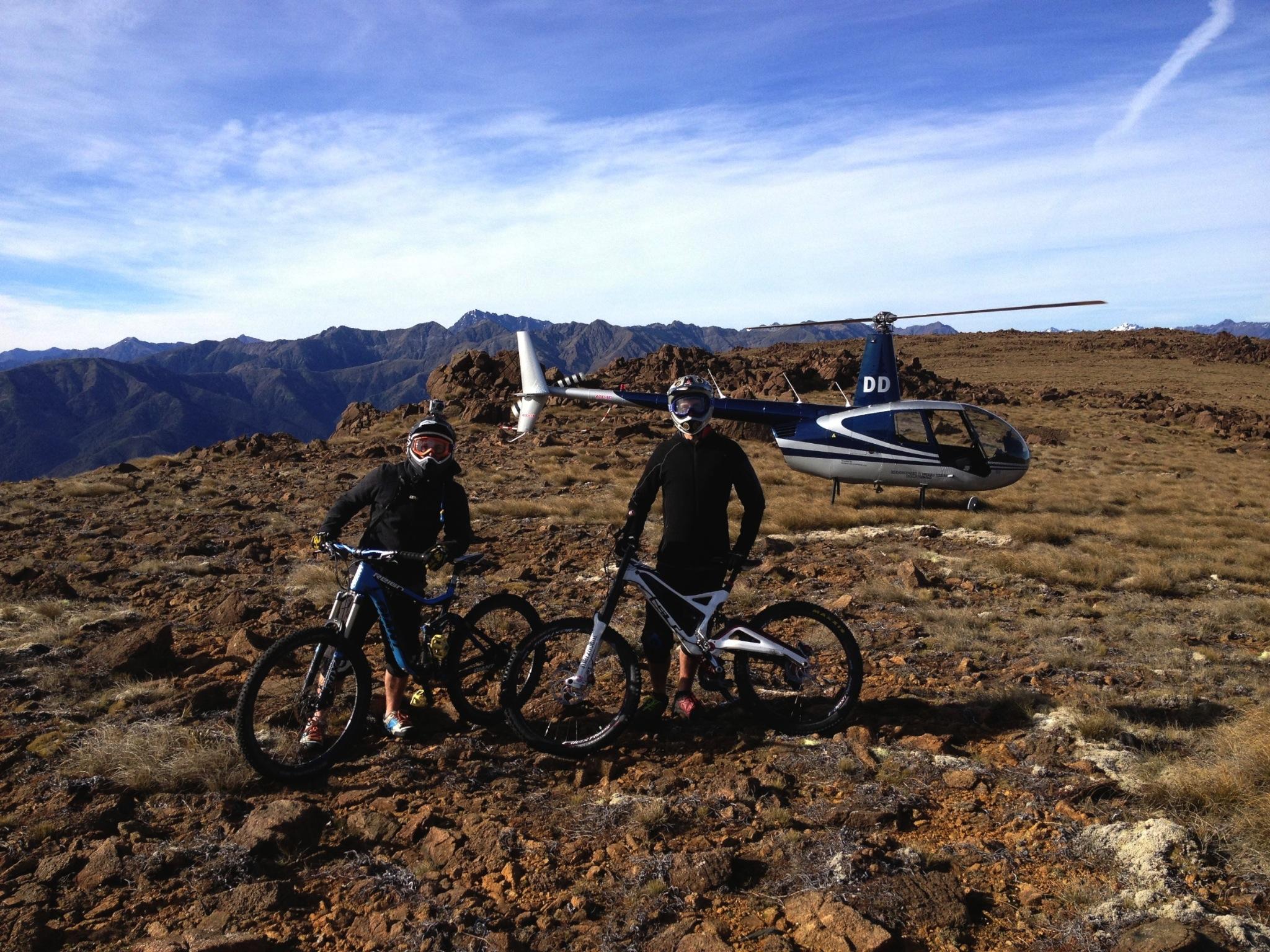 Outdoor helicopter activities