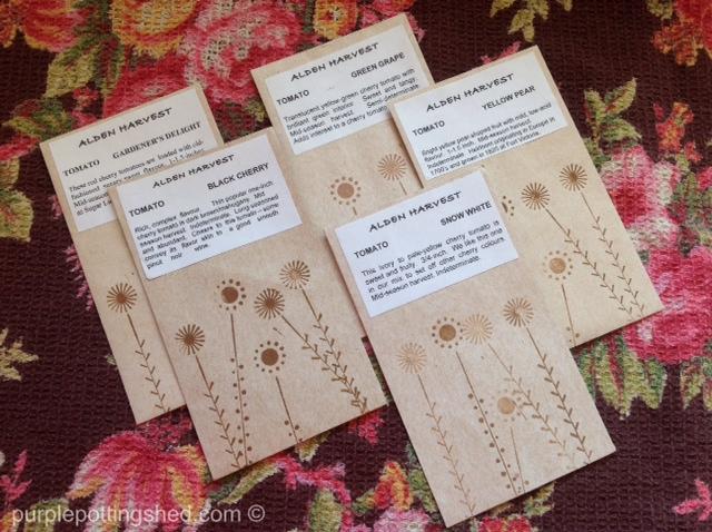 Seed packets, Alden Harvest.jpg