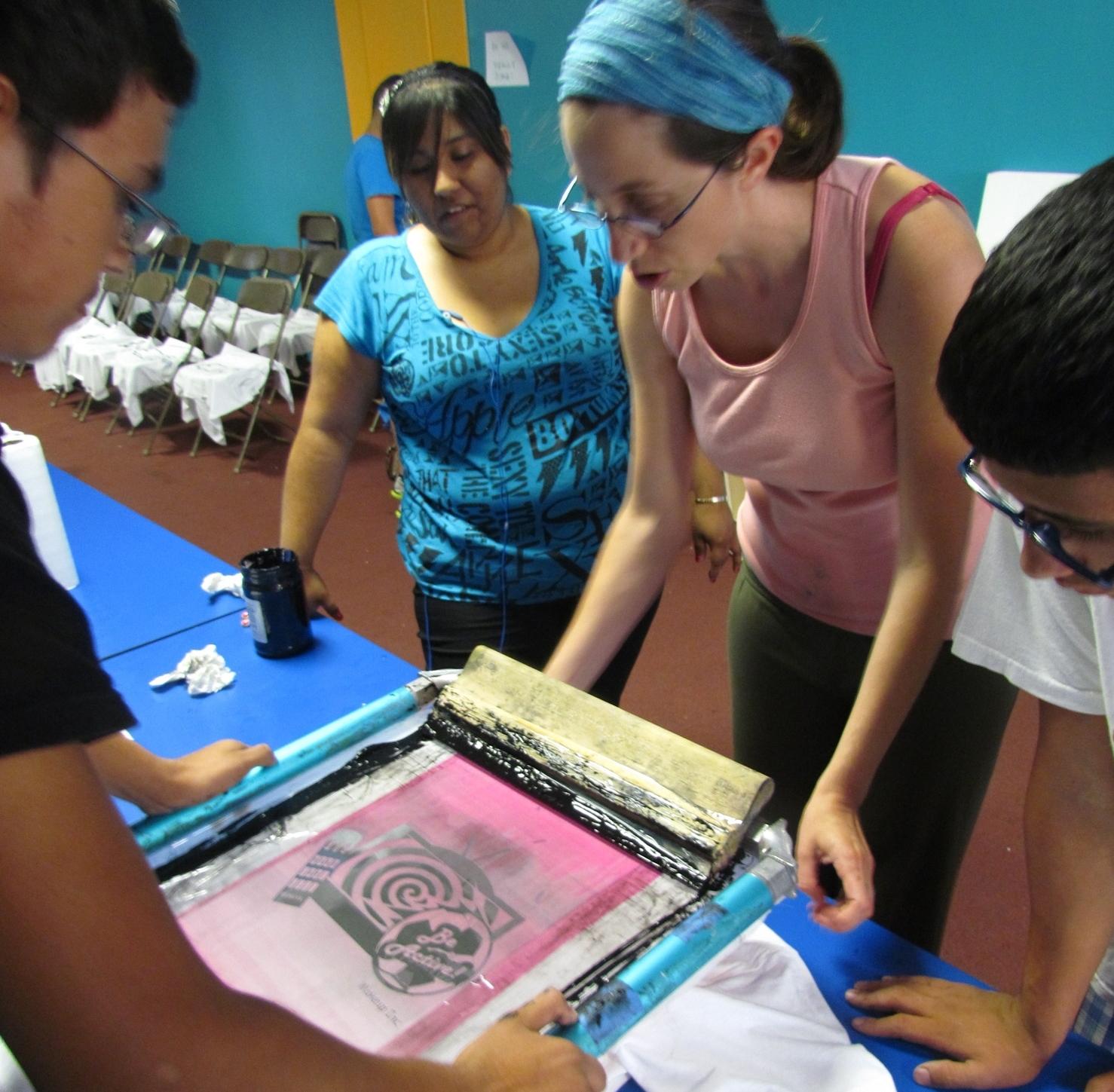 Art Entrepnuership Camp Summer 2012