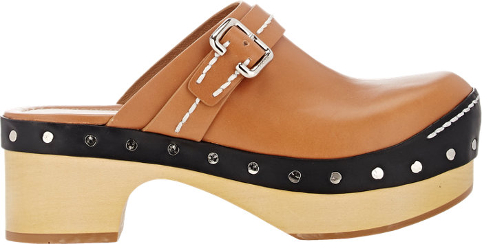 Prada  Buckle Strap Clogs