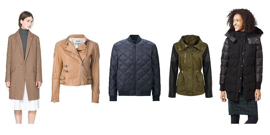 Zara Coat (  similar  ), Acne Studios Moi Jacket (  similar  ),  Uniqlo Down Jacket  ,   , Zara Jacket (  similar  ),  Uniqlo Down Coat
