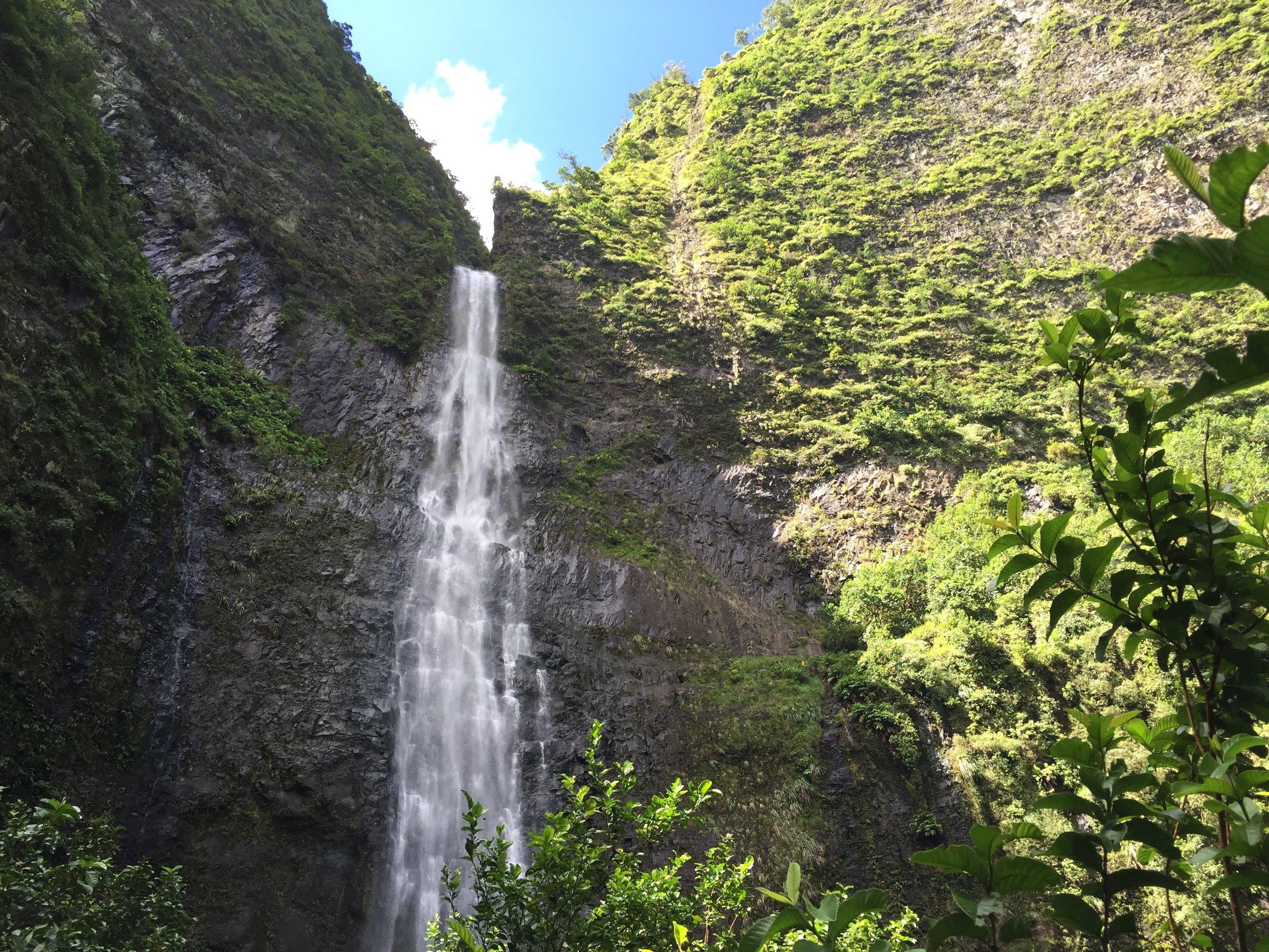 Hanakapi'ai Falls.