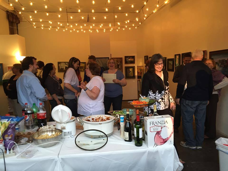 Liverpool Art Center reception OMOT 2015