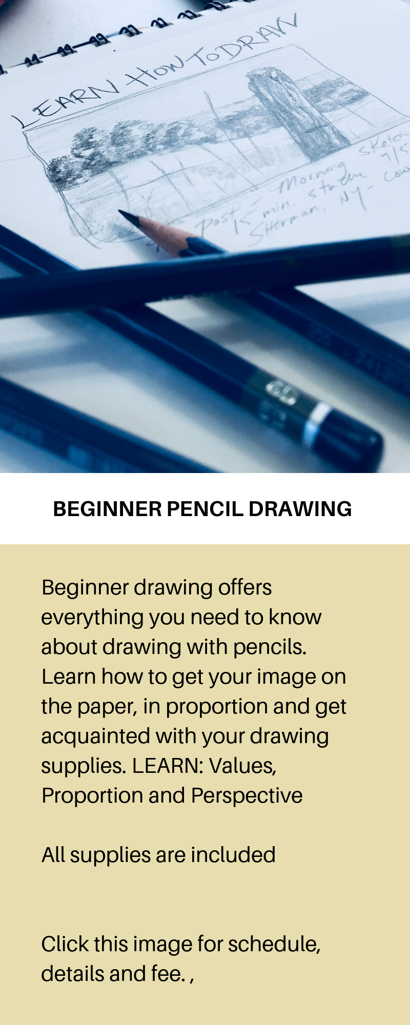 STARTING SPRING 2019 - LEARN HOW TO DRAW FROM HOME ! LIVE CLASS ON FB