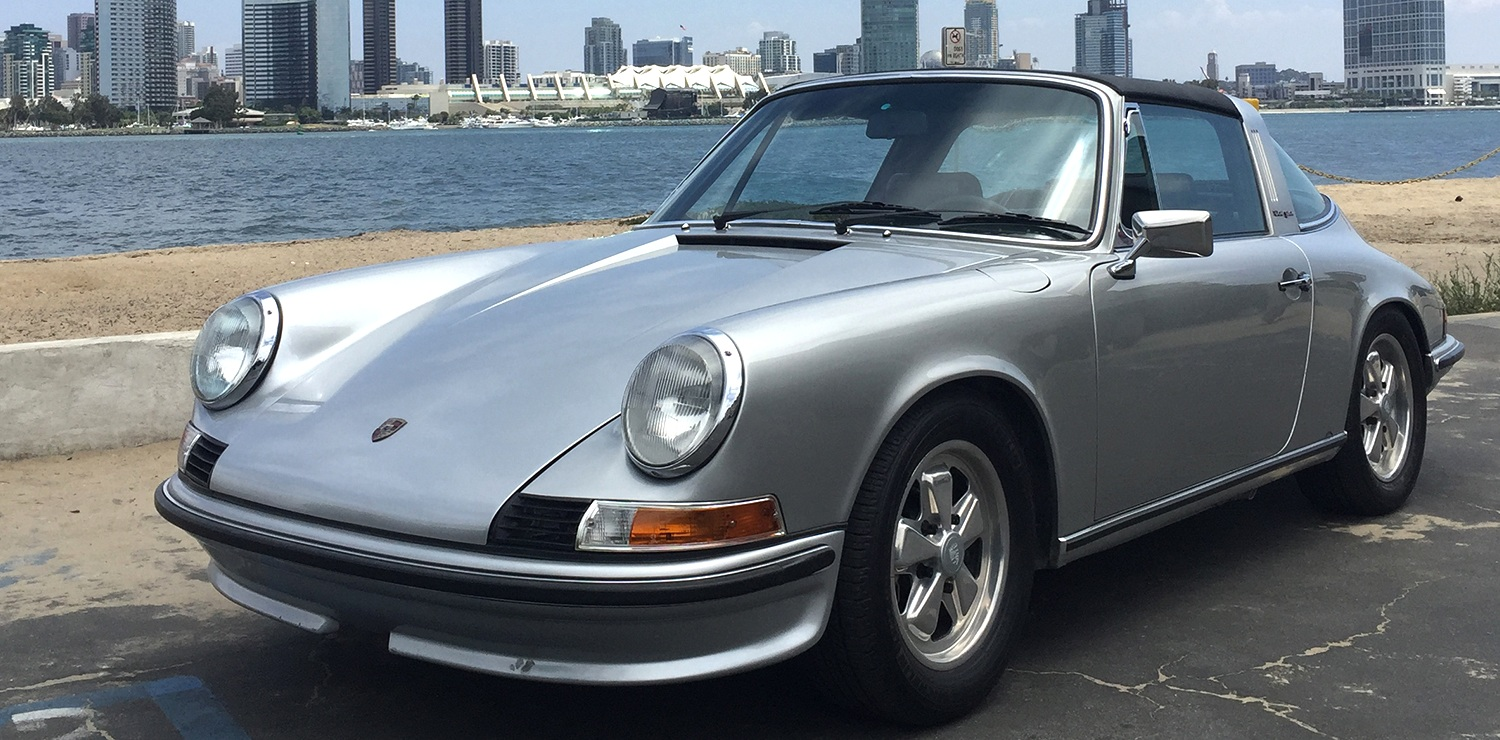 73 911 Targa, reborn with all electric power train, top speed 150mph.
