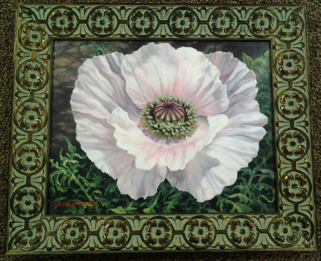 """""""A Star is Born"""" original oil by Janet Weaver - $575 (18"""" x 15"""")"""