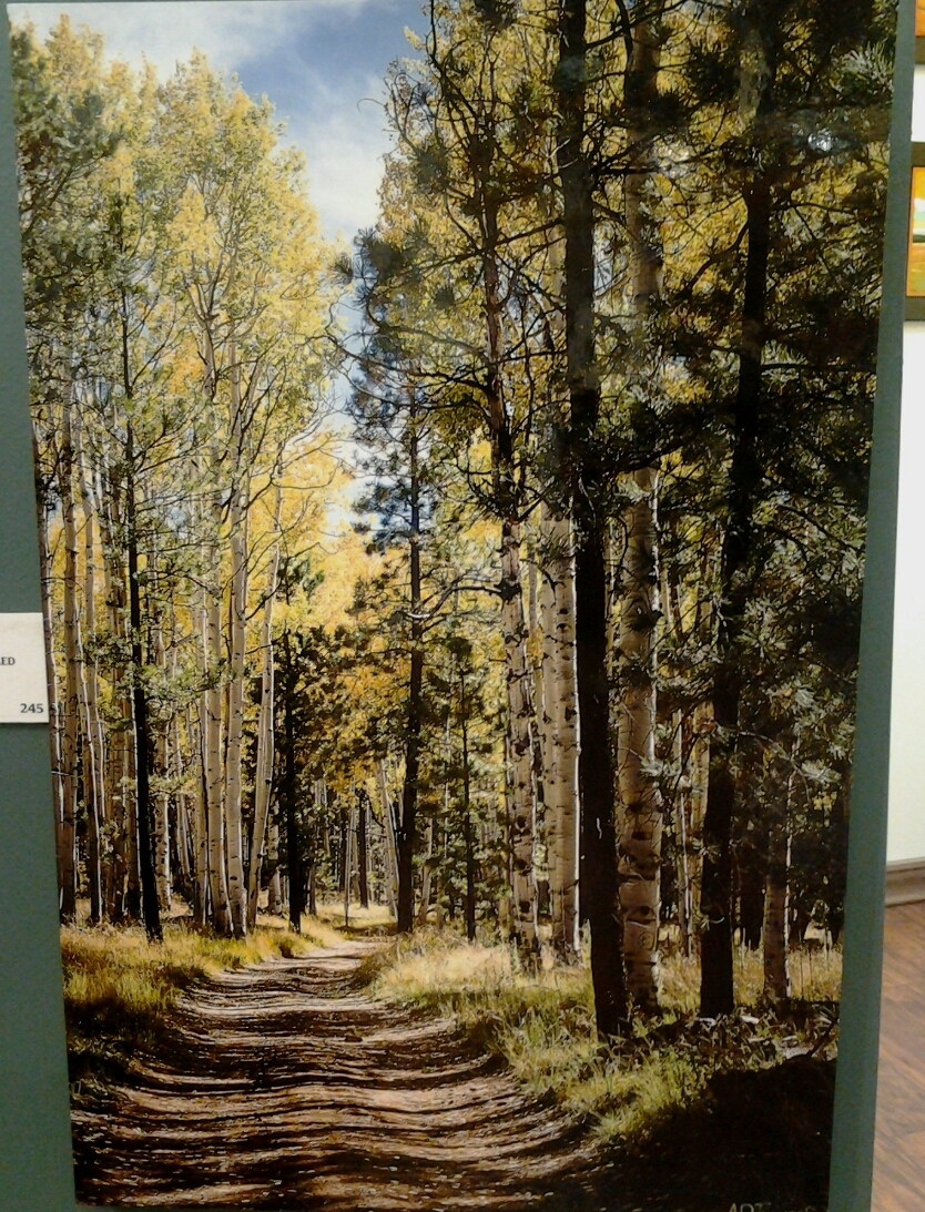"""Road Less Traveled"" original photograph by A O Tucker - $245 (16"" x 24"") -  SOLD"