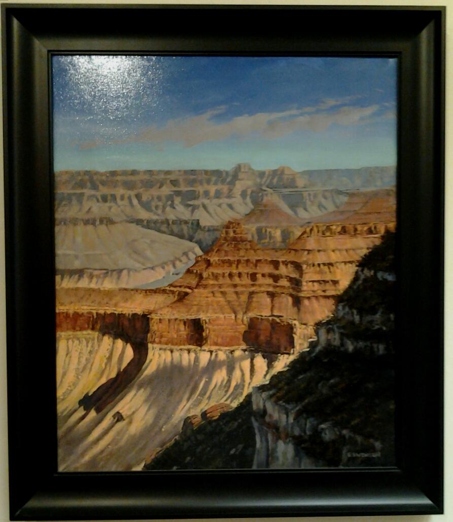 """South Rim"" original oil by Roy Swenson - $2,200 (24"" x 28.5"""