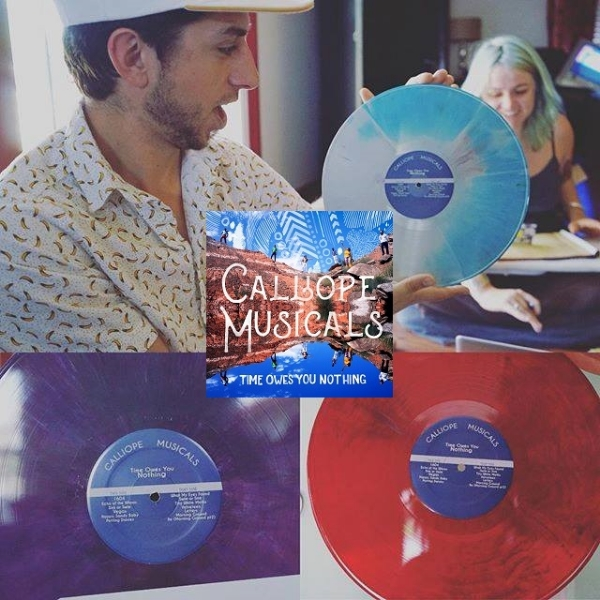 Time Owes You Nothing - COLOR Vinyl Version w/ free download - $25