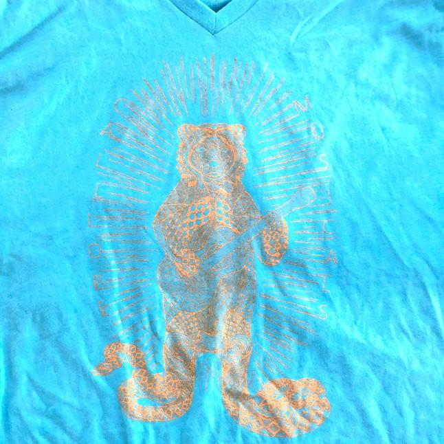 Snakebear T-shirt (Teal)