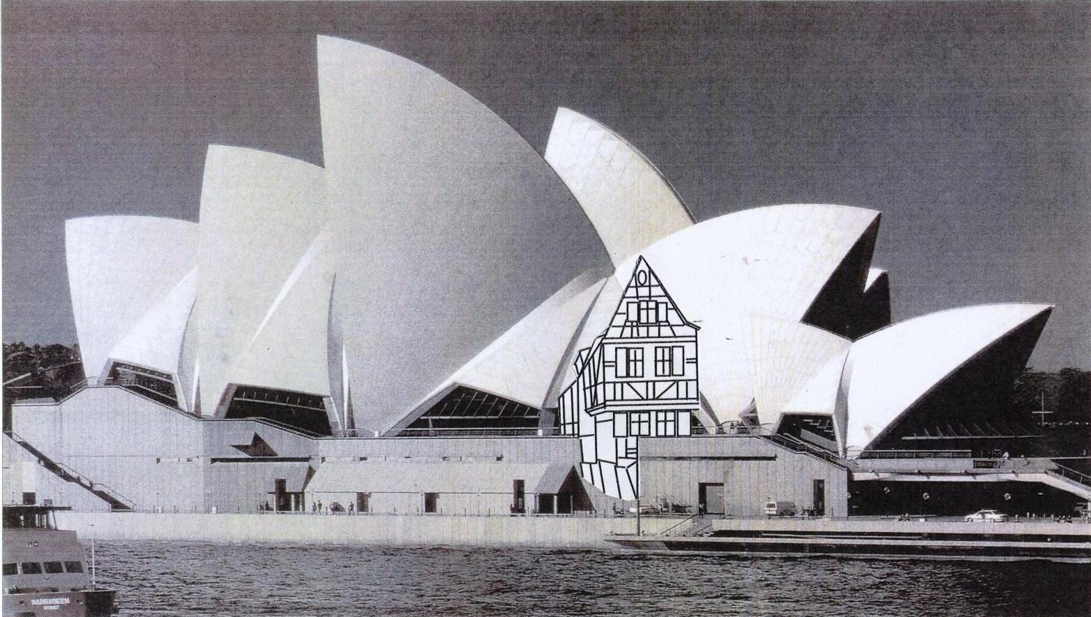 Terry Reid, 'Bavaria Visits Sydney, The Opera House goes to Malerwinkelhaus'.